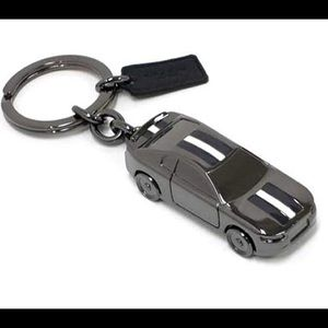 Coach car keychain